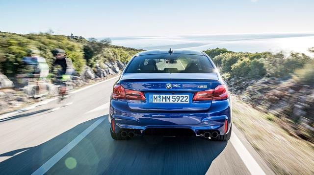 BMW ra mắt M5 2018 giá xuất xưởng khoảng 2,7 tỉ - ảnh 2