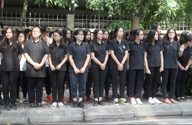 Nghẹn ngào đưa tiễn PGS-TS Văn Như Cương về cõi vĩnh hằng - Ảnh 5.