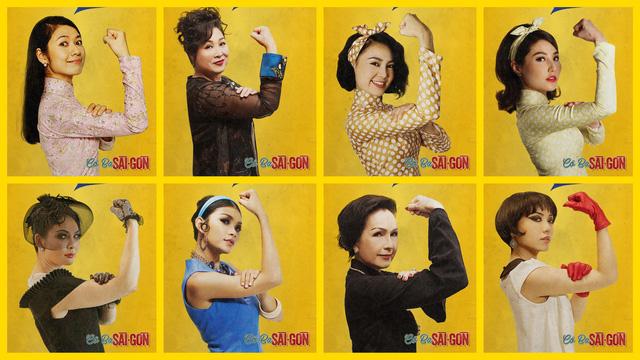 Poster cổ động Cô Ba Sài Gòn: Sai một ly đi một dặm - Ảnh 1.
