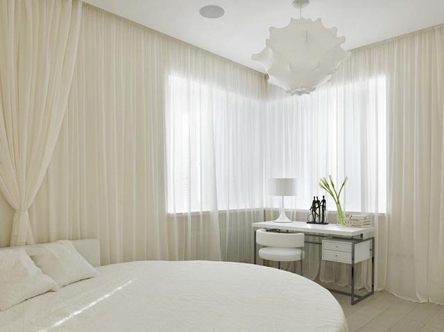 Các mẫu giường tròn cho cặp đôi lãng mạn - Ảnh 1.