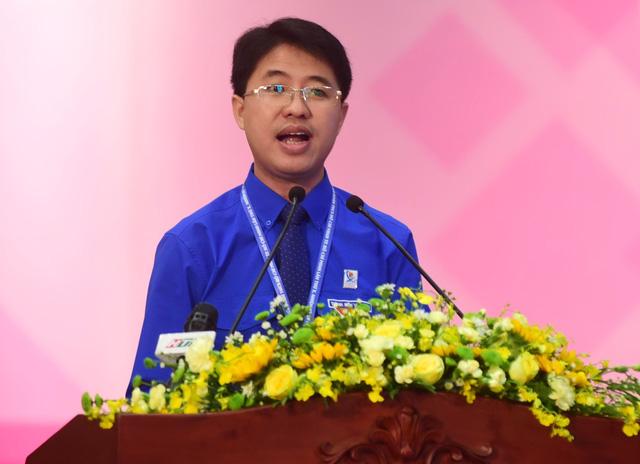 Anh Phạm Hồng Sơn tái đắc cử bí thư Thành đoàn TP.HCM - Ảnh 1.