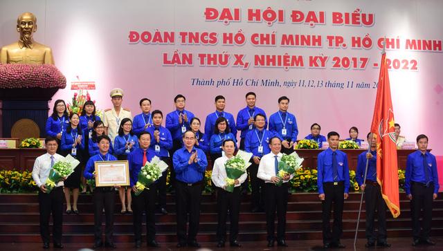 Anh Phạm Hồng Sơn tái đắc cử bí thư Thành đoàn TP.HCM - Ảnh 4.