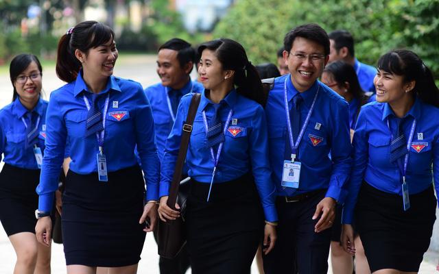 Anh Phạm Hồng Sơn tái đắc cử bí thư Thành đoàn TP.HCM - Ảnh 5.
