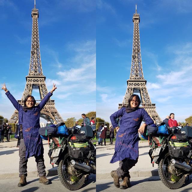 Chàng trai Tiền Giang đi xe máy từ Việt Nam đến Pháp - Ảnh 2.