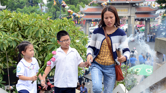 Nhớ Sài Gòn mùa Vu lan - Ảnh 1.