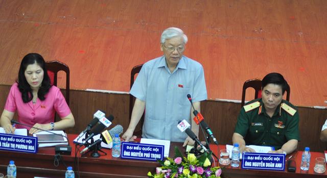 Tổng bí thư Nguyễn Phú Trọng: Người bị kỷ luật cảm ơn vì đã kỷ luật họ - Ảnh 1.