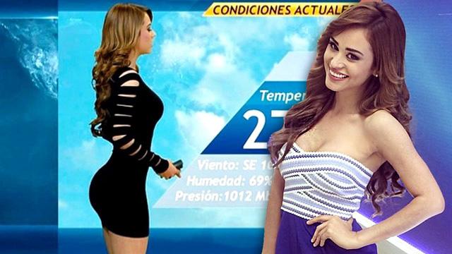 Dân Mexico mê xem dự báo thời tiết vì người dẫn chương trình - Ảnh 2.