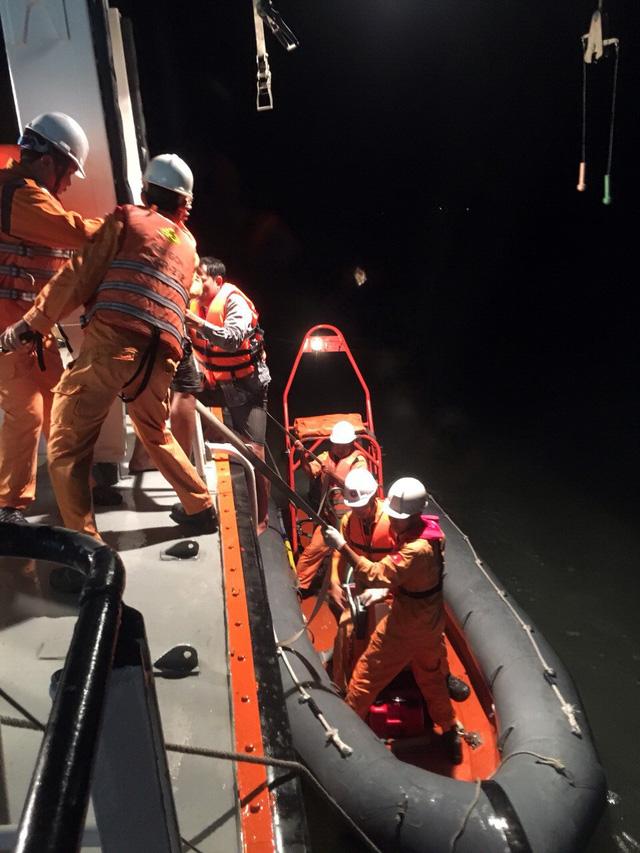 Chìm tàu cá ở Vũng Tàu, 4 ngư dân mất tích - Ảnh 2.