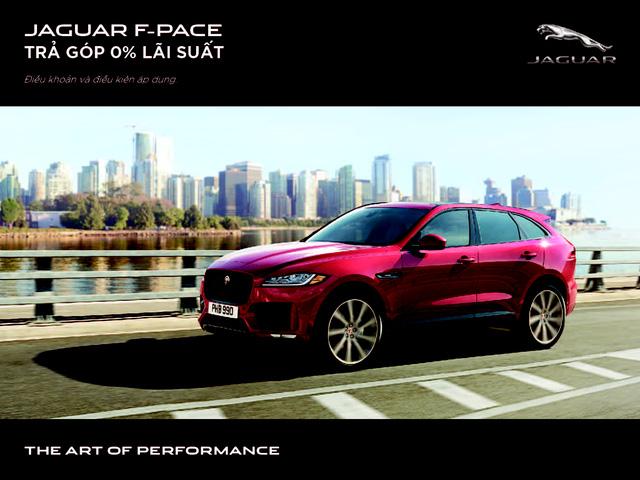 Ưu đãi hấp dẫn khi mua Jaguar trong tháng 10 - Ảnh 1.