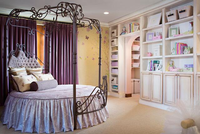 Các mẫu giường tròn cho cặp đôi lãng mạn - Ảnh 5.