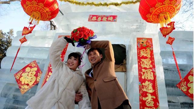Kết quả hình ảnh cho đám cưới ở trung quốc