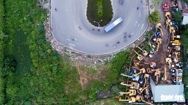 Xe cộ Sài Gòn nhìn từ flycam - Ảnh 6.