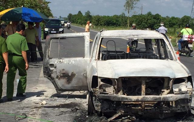 Đã bắt được nghi can đốt xe, giết giám đốc giữa đêm - Ảnh 2.