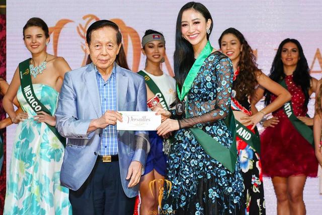 Hà Thu giành huy chương đồng tại Hoa hậu trái đất - Ảnh 4.