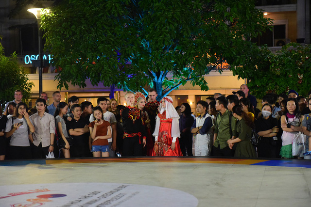 Đêm Văn hóa Thế giới 2017 trên phố đi bộ Nguyễn Huệ - Ảnh 4.