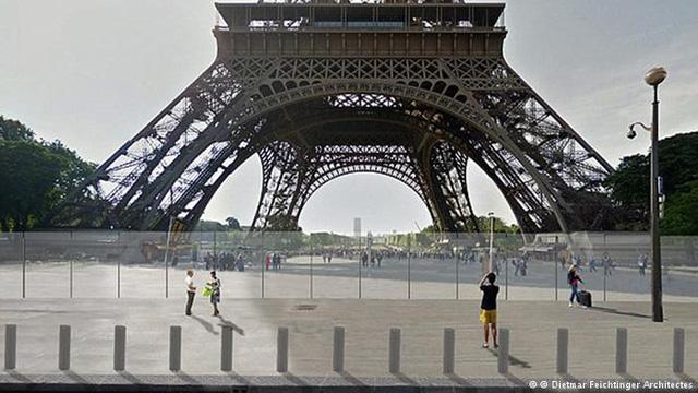 Pháp khoác áo chống đạn cho tháp Eiffel - Ảnh 1.