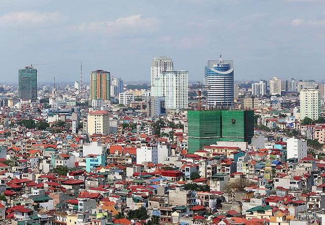Thị trường Hà Nội: Giá thuê văn phòng hạng A vẫn bỏ xa hạng B - Ảnh 1.