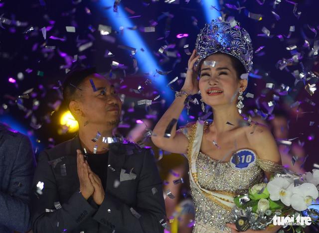 Ngân Anh đăng quang Hoa hậu đại dương 2017: ban tổ chức nhận sai - Ảnh 1.