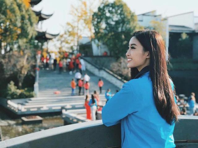Fanpage Hoa hậu Thế giới 2017 bắt đầu công bố về Mỹ Linh