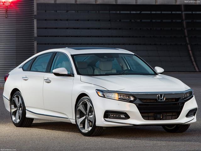 Honda Accord 2018 nâng cấp toàn diện, cạnh tranh với Toyota Camry - Ảnh 4.