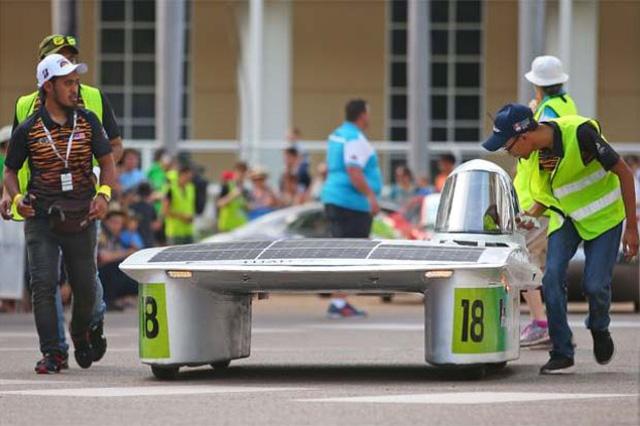 Ngắm những chiếc xe năng lượng mặt trời độc đáo - Ảnh 10.