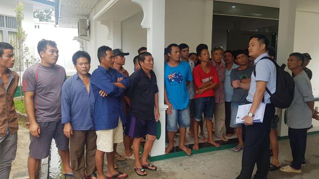 Đại sứ quán Việt Nam tham dự phiên tòa 5 ngư dân kêu oan - Ảnh 1.