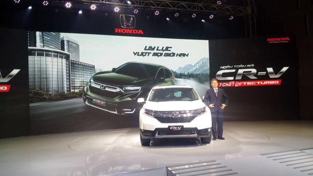 Honda CR-V đời mới ra mắt khách hàng Việt - Ảnh 1.