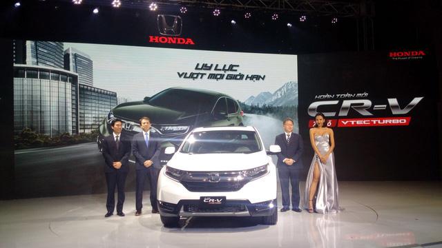 Honda CR-V đời mới ra mắt khách hàng Việt - Ảnh 2.