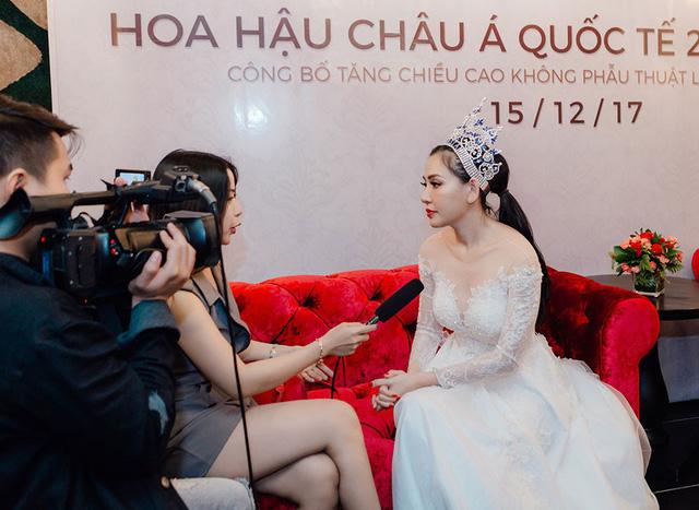 Hoa hậu Vũ Lâm có khả năng kéo dài chân không qua phẫu thuật? - Ảnh 1.