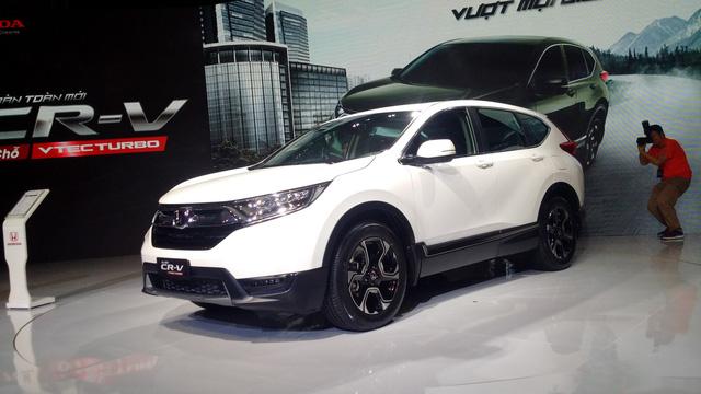 Honda CR-V đời mới ra mắt khách hàng Việt - Ảnh 3.