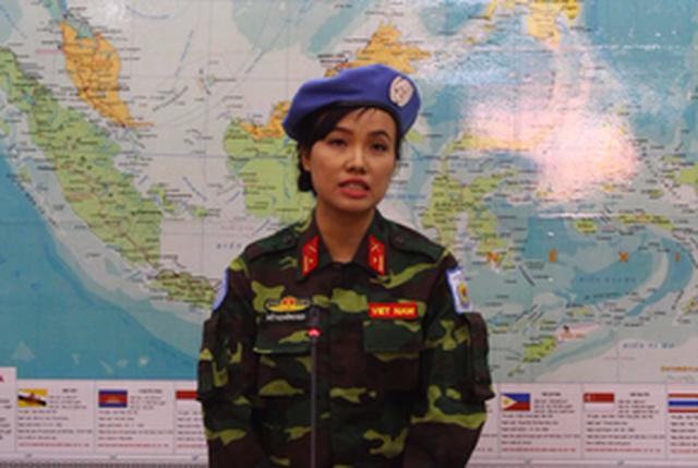 Nữ sĩ quan VN đầu tiên tham gia gìn giữ hòa bình tại Nam Sudan - Ảnh 2.