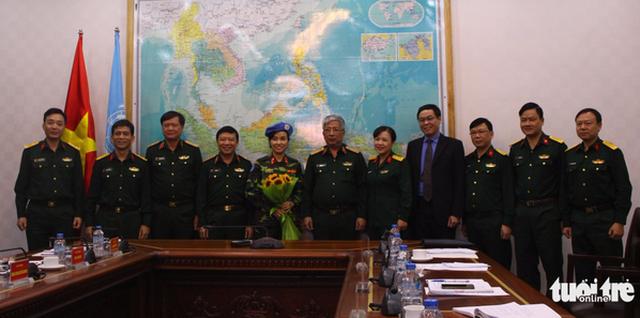 Nữ sĩ quan VN đầu tiên tham gia gìn giữ hòa bình tại Nam Sudan - Ảnh 3.