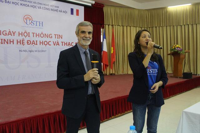 Đại học Việt- Pháp tuyển sinh thêm 5 ngành mới - Ảnh 1.