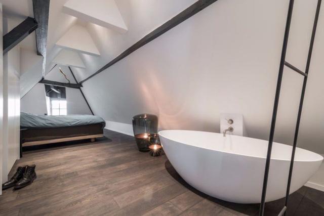 Thiết kế siêu thoáng khiến căn hộ Amsterdam rộng hơn hẳn - Ảnh 10.