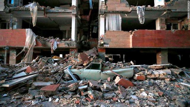 Nhiều ngôi làng ở Iran biến mất sau động đất - Ảnh 1.