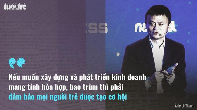 Tỉ phú Jack Ma: Khởi nghiệp phải có tình yêu - Ảnh 1.