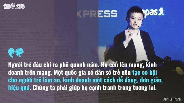 Tỉ phú Jack Ma: Khởi nghiệp phải có tình yêu - Ảnh 4.