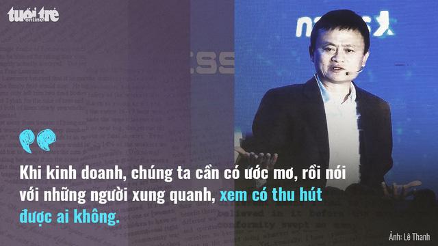 Tỉ phú Jack Ma: Khởi nghiệp phải có tình yêu - Ảnh 6.
