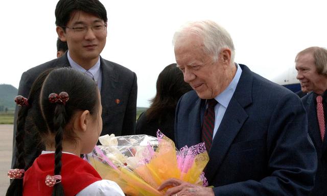 Cựu tổng thống Jimmy Carter muốn làm trung gian đối thoại với Bình Nhưỡng - Ảnh 1.