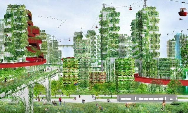 Giờ đây xây thành phố phải thuận theo tự nhiên - Ảnh 4.