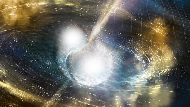 Các nhà khoa học tận mắt thấy vũ trụ tạo ra vàng - Ảnh 1.