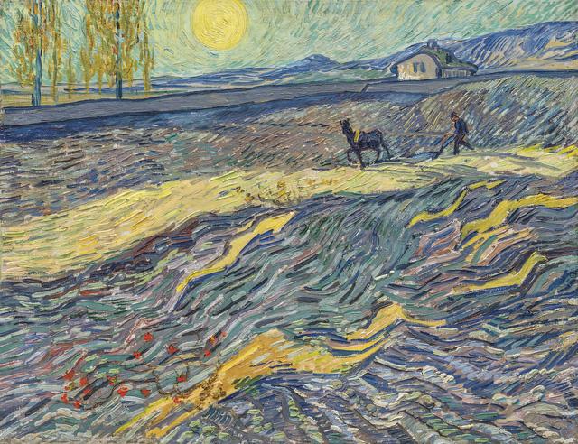 Tranh Van Gogh bán đấu giá được 81,3 triệu USD - Ảnh 1.