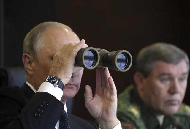 Nga bộc lộ sức mạnh quân sự trong tập trận Zapad - Ảnh 4.
