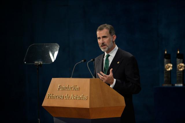 Nhà vua Tây Ban Nha phản đối Catalonia ly khai - Ảnh 1.