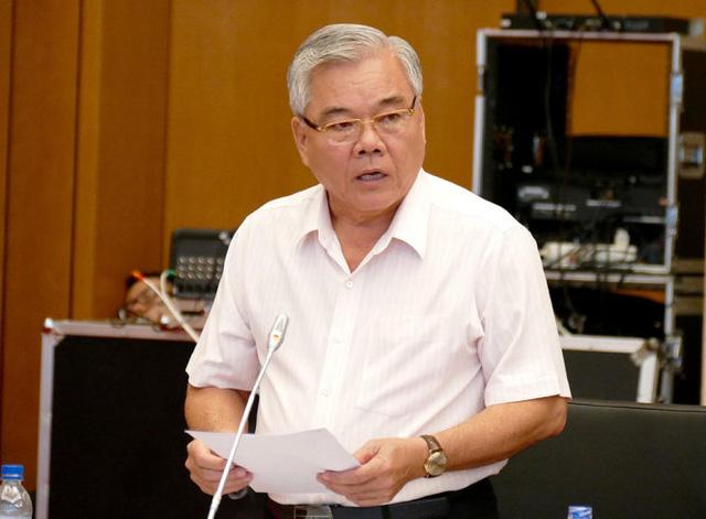Sẽ miễn nhiệm Tổng Thanh tra Chính phủ Phan Văn Sáu - Ảnh 1.