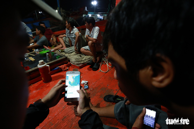 Làng biển Phan Rang không ngủ trước bão lớn - Ảnh 7.