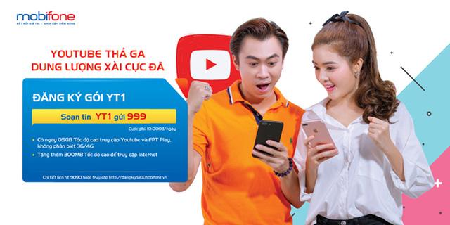 Học trực tuyến, kiếm tiền trên Youtube bằng 4G MobiFone siêu tiết kiệm - Ảnh 2.