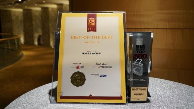 Thế giới di động lọt Top 5 nhà bán lẻ vượt trội Châu Á Thái Bình Dương - Ảnh 2.