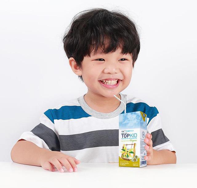 Sữa tươi tiệt trùng TH true MILK công thức TOPKID - Ảnh 1.