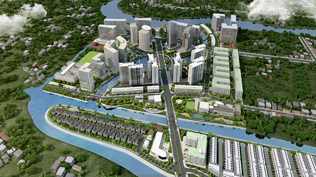Chuẩn bị ra mắt căn hộ kênh đào Flora Mizuki - Ảnh 1.